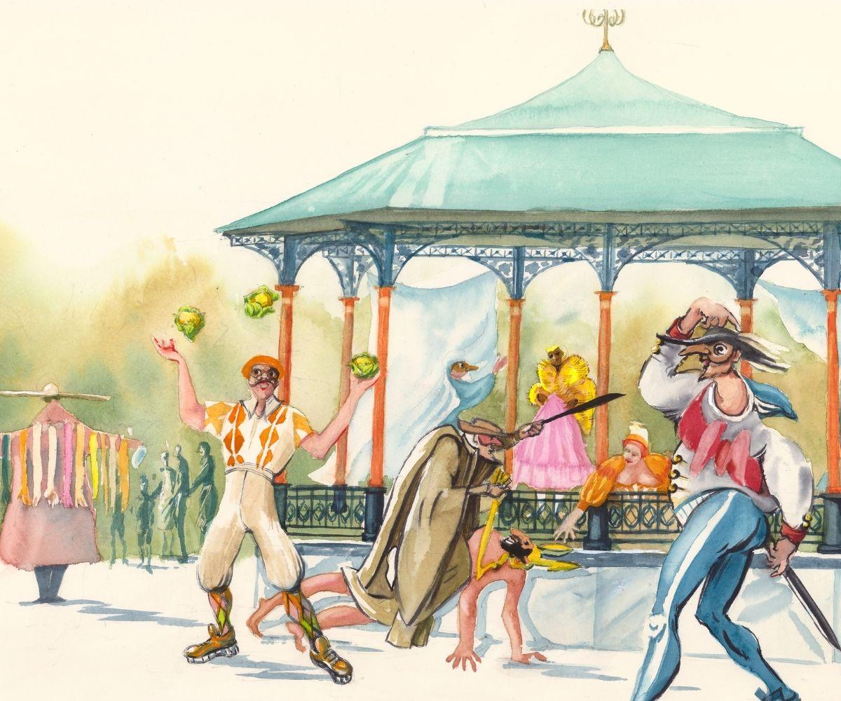 La Confusione of Arlecchino & His Mates @ Greenwich Park