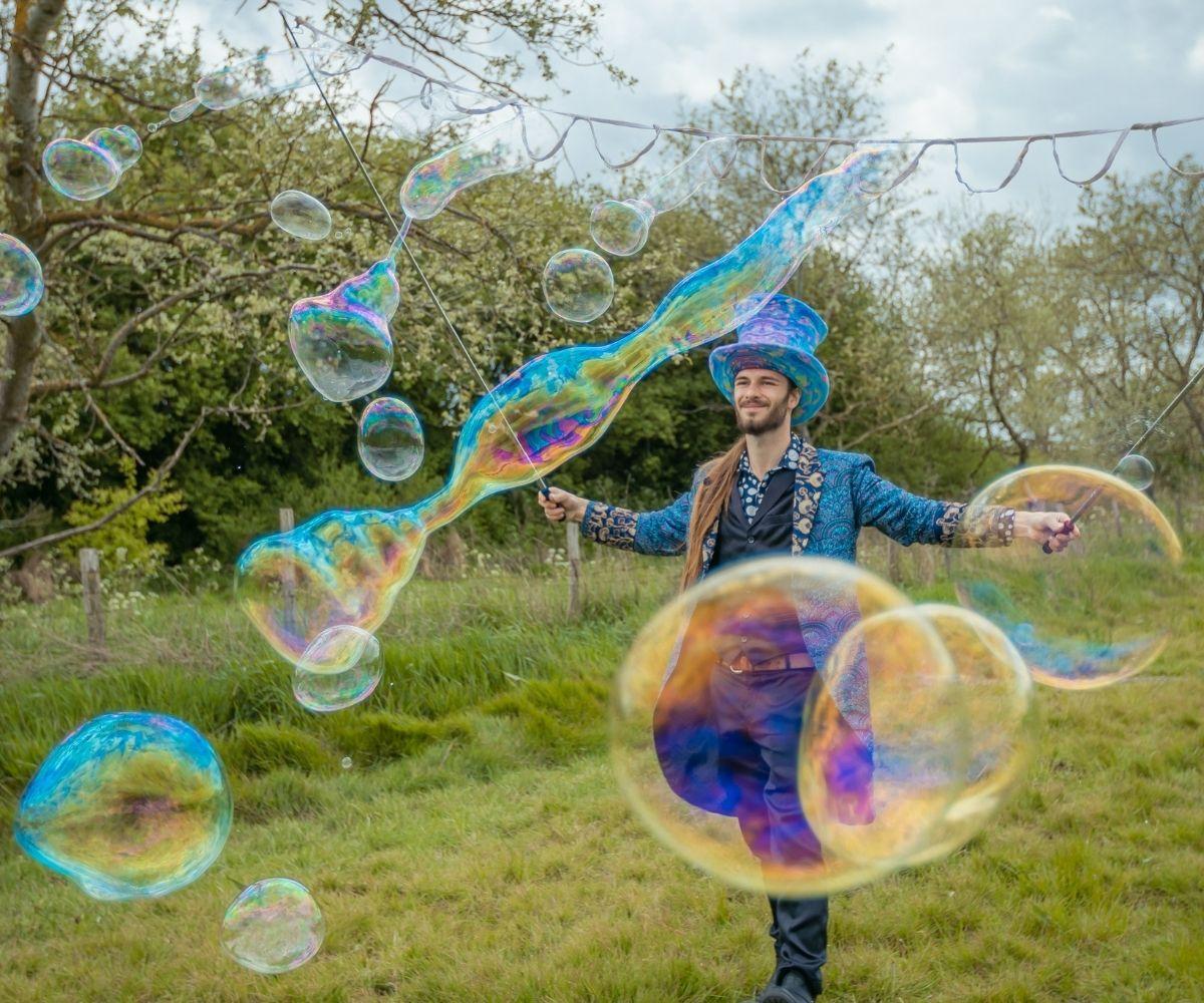 Bubble Man @ Royal Arsenal Woolwich