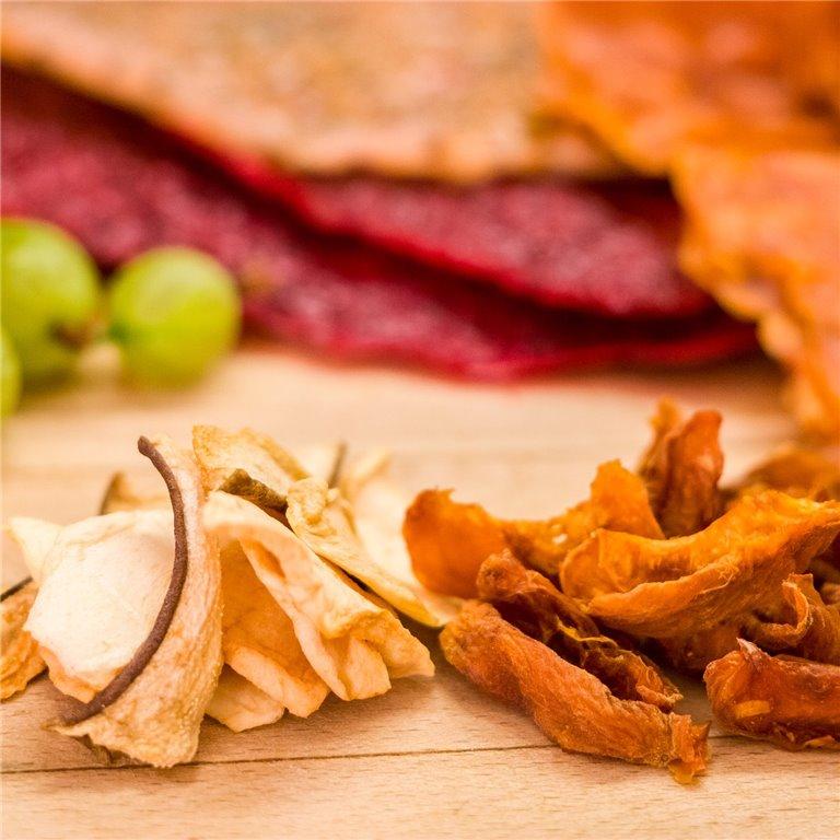 ir a Comprar chips de kale y fruta deshidratada online
