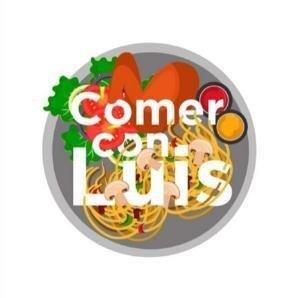Logo Comer con Luis