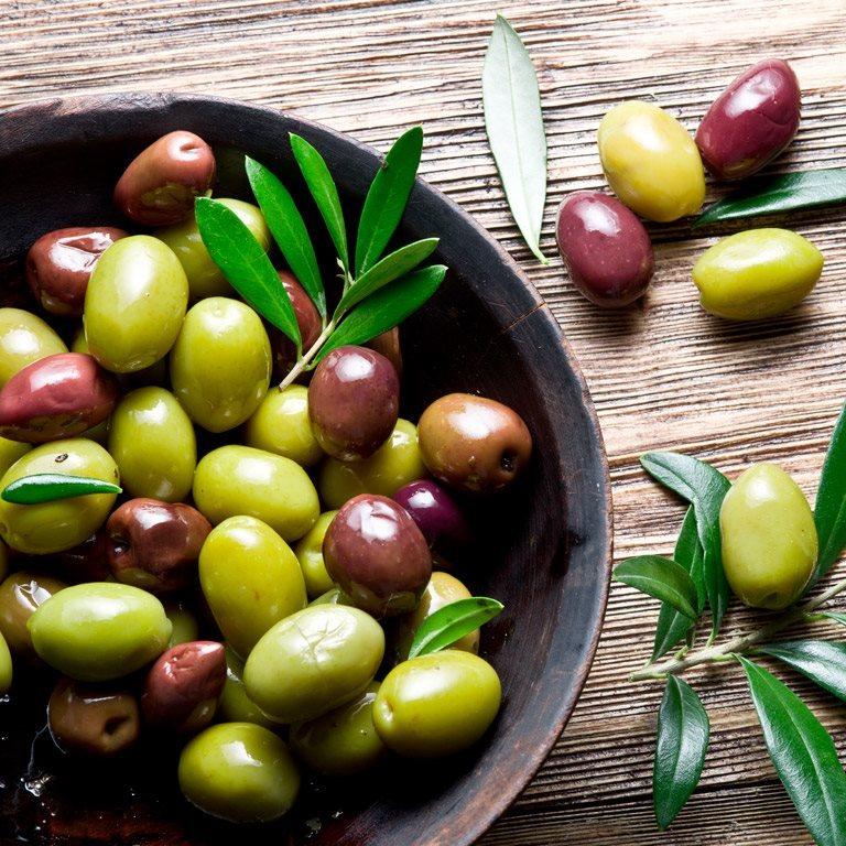 ir a Patatas, olivas y más