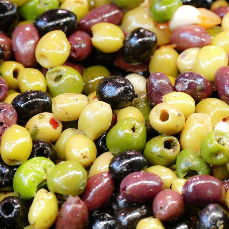ir a Frutos secos y encurtidos