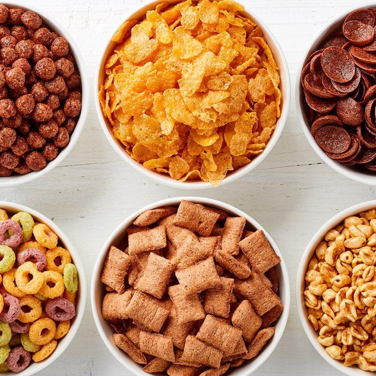 ir a Cereales de desayuno