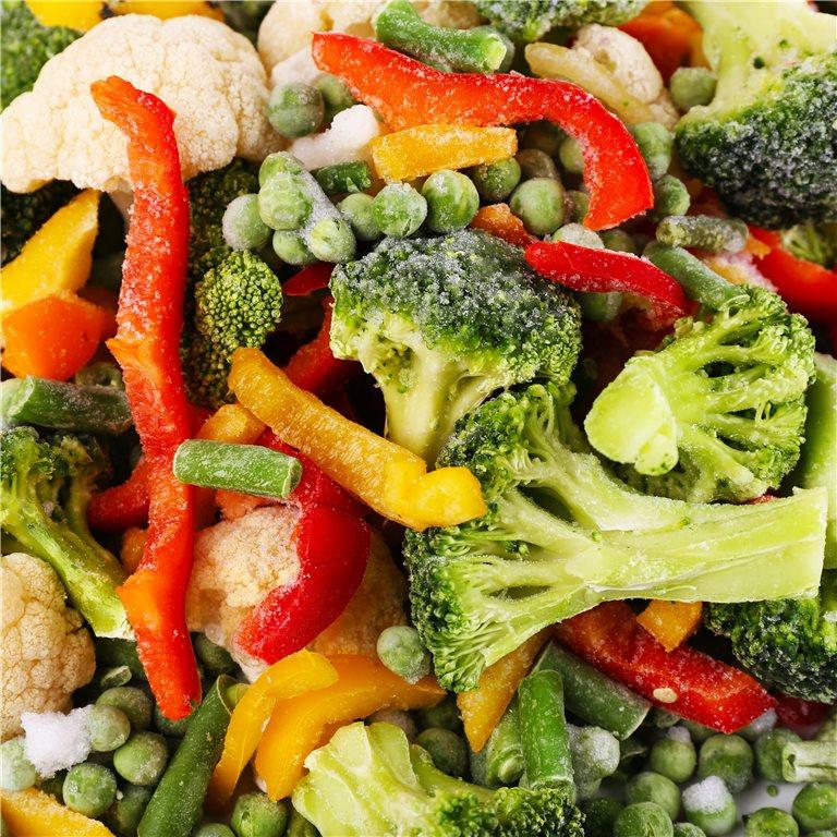 ir a Verduras Congeladas
