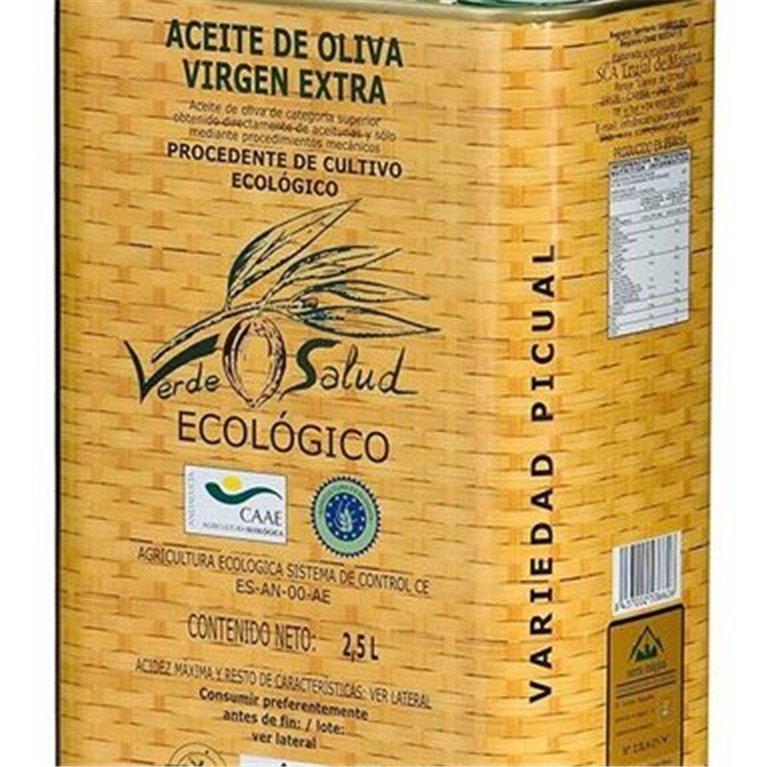 ir a Aceites de  oliva ecologicos