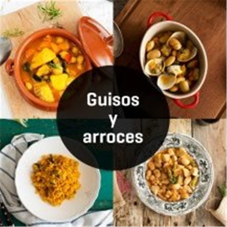 ir a GUISOS Y ARROCES