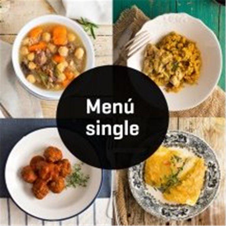 ir a Menús para Singles