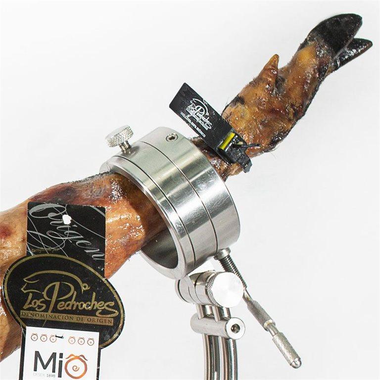 1/4 Jamón loncheado de Bellota 100% Ibérico MÍO con D.O. Los Pedroches. 7 sobres para degustación (Maza, punta, babilla)