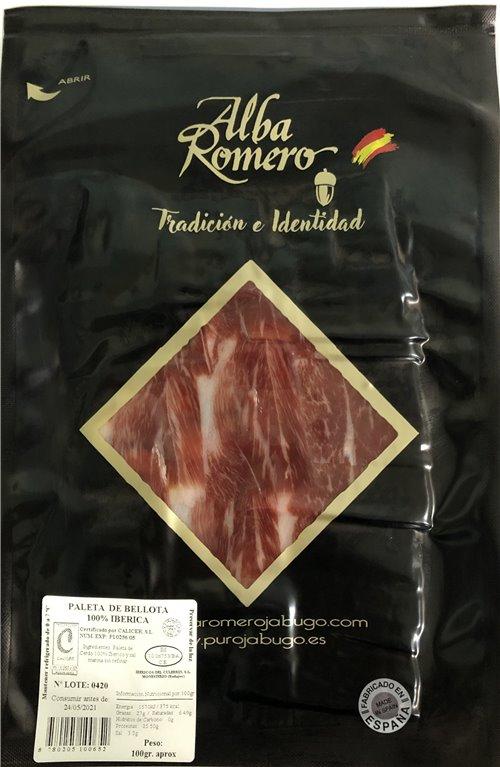 1 Kg Paleta de Bellota 100% Ibérica  A.Romero a cuchillo