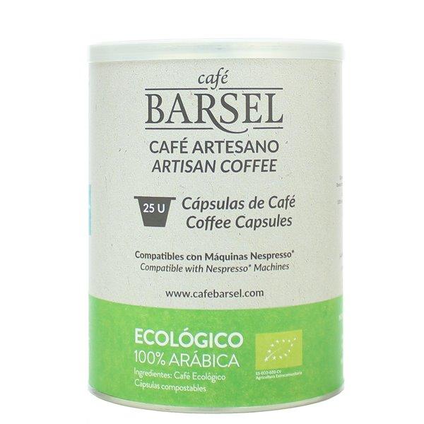 100% Arábica ECOLÓGICO - Cápsulas compatibles Nespresso®