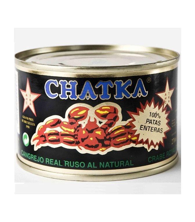 100% Patas Chatka al natural 185gr. Chatka. 6un.
