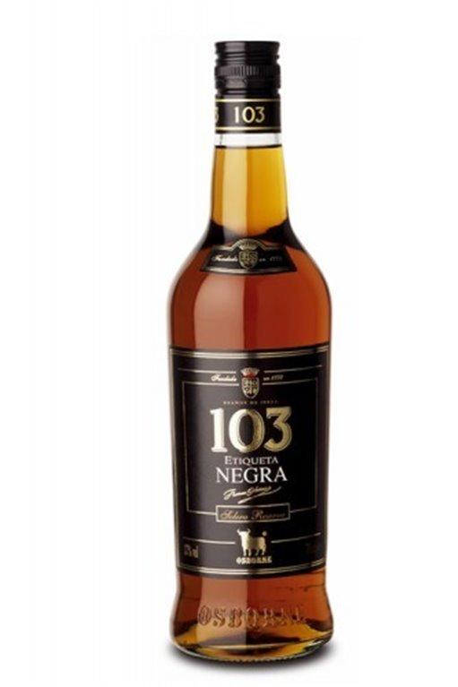 103 Etiqueta Negra
