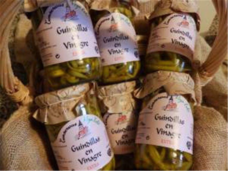 12 tarros de guindillas en vinagre de 720 ml, 12 ud