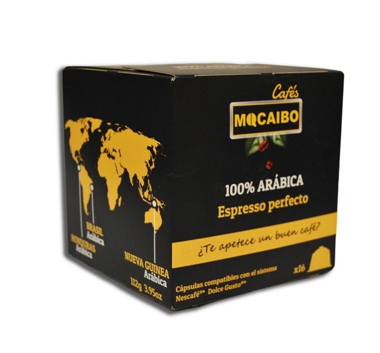 16 CÁPSULAS CAFÉ 100% ARÁBICA DOLCE GUSTO