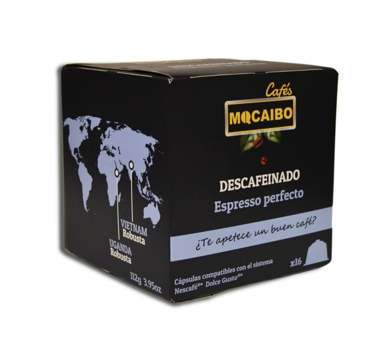 16 CÁPSULAS CAFÉ DESCAFEINADO - DOLCE GUSTO