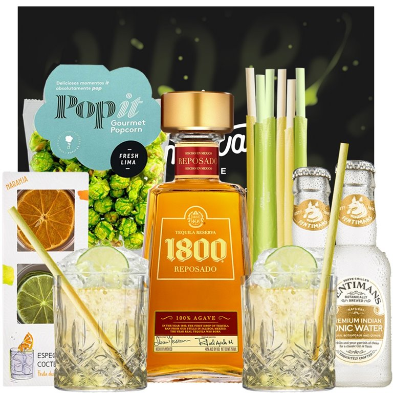 1800 Reposado - Pack Tequila & Tonic