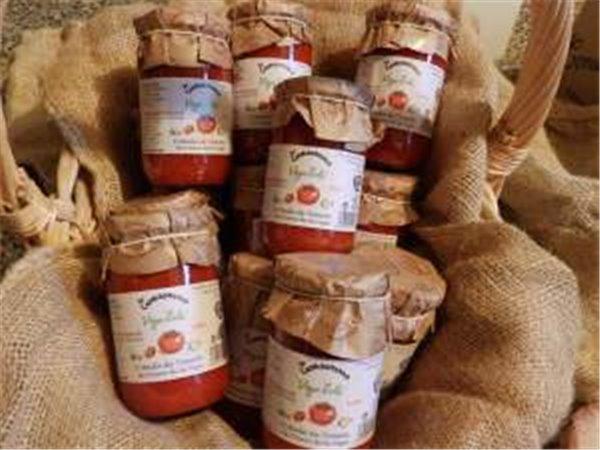 2 cajas de fritada de tomate artesana 24 tarros de 314 ml