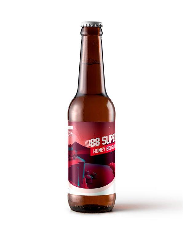 6 Cervezas Castreña 88Super de 33cl