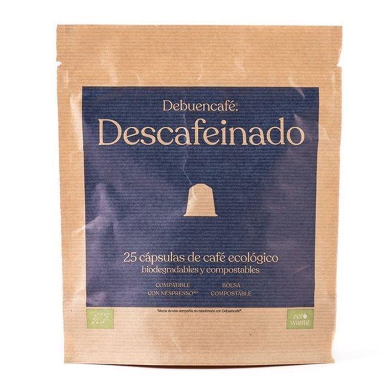 25 Debuencafé Compostable Capsules Compatible with Nespresso - DECAFFEINATED