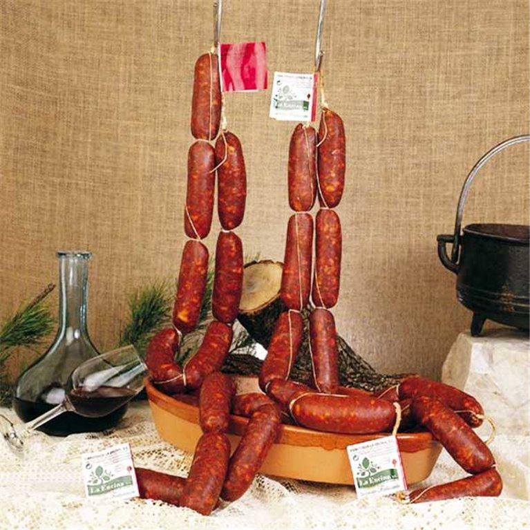 Chorizo picante extra del Bierzo Emb.La Encina 700gr aprox, 1 ud