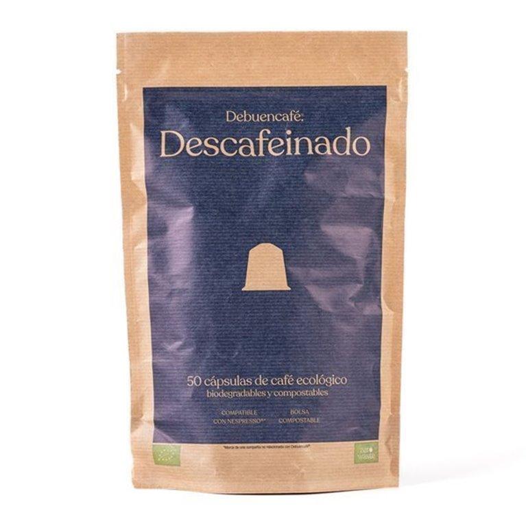 50 Debuencafé Compostable Capsules Compatible with Nespresso - DECAFFEINATED