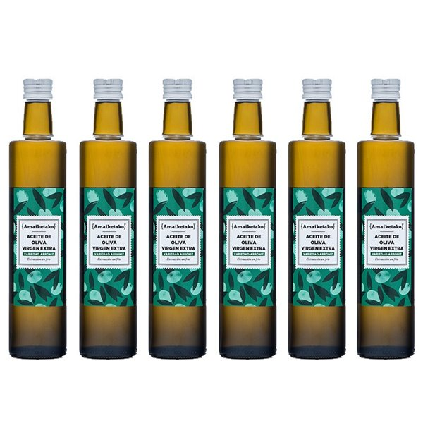 6 X Aceite de oliva Virgen Extra 500ml