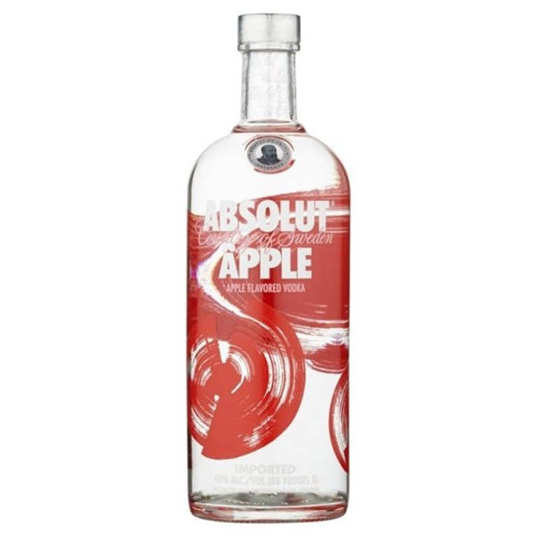 ABSOLUT APPLE 1,00 L. 40º
