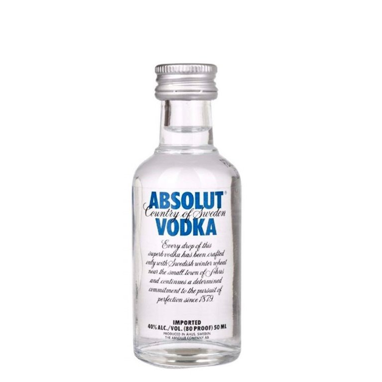 ABSOLUT BLUE 0,05 L.