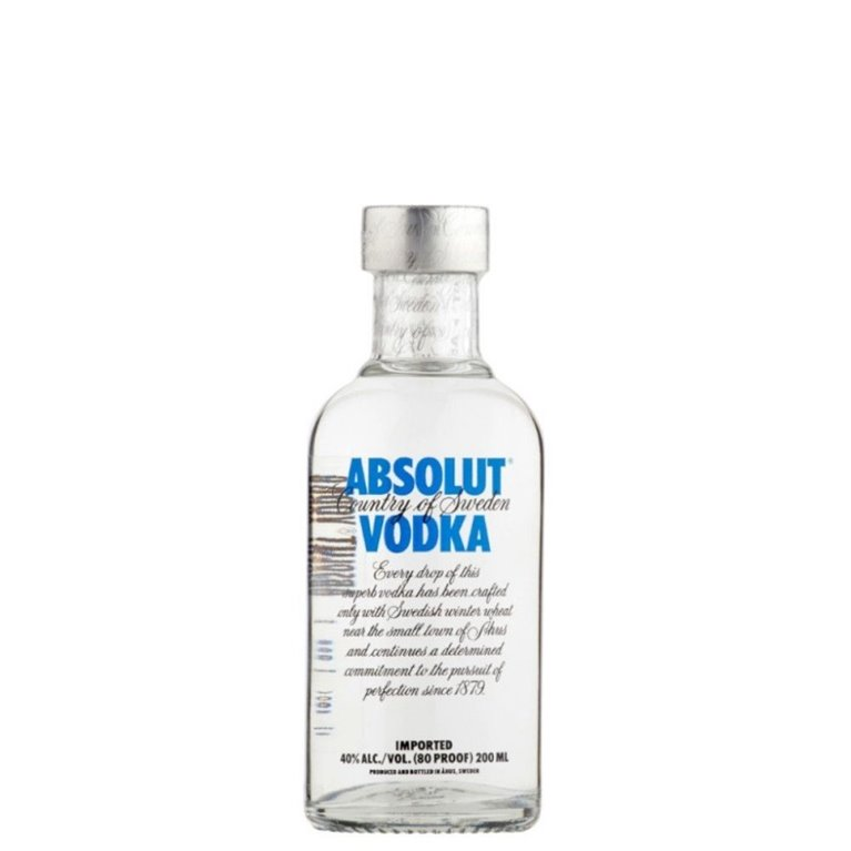 ABSOLUT BLUE 0,20 L.