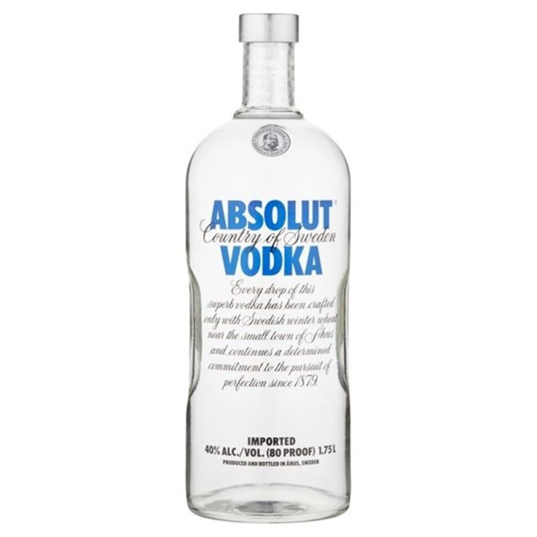 ABSOLUT BLUE 1,75 L. 40º