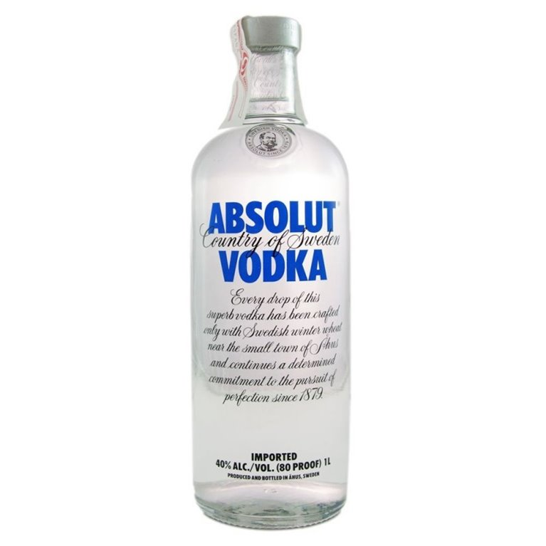 ABSOLUT BLUE 1L.
