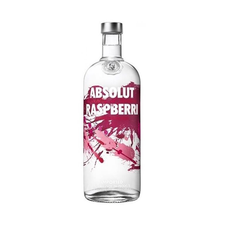 ABSOLUT RASPBERRY 1,00 L. 40º