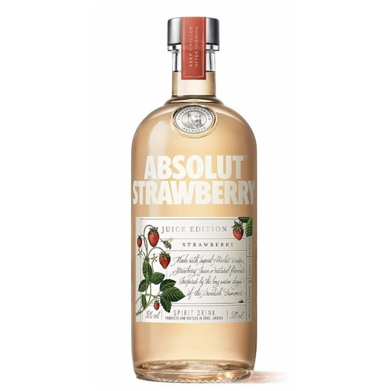 ABSOLUT STRAWBERRY 0,50 L.