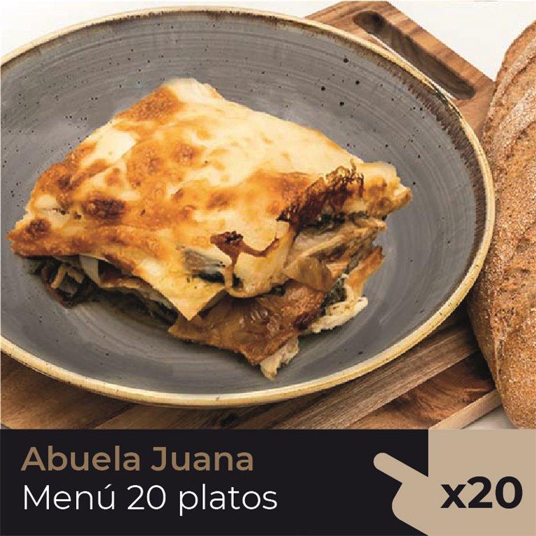 Abuela Juana  (20 Platos)