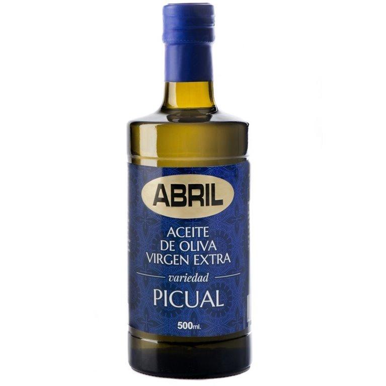 Aceite Abril Oliva Virgen Extra Picual 500cc Caja 6 botellas