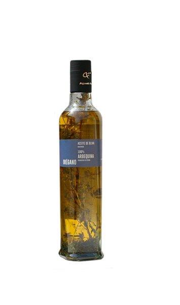 Aceite Agustín Fornos 100% Arbequina con orégano