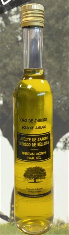 Aceite con jamón bellota 500ml, 1 ud