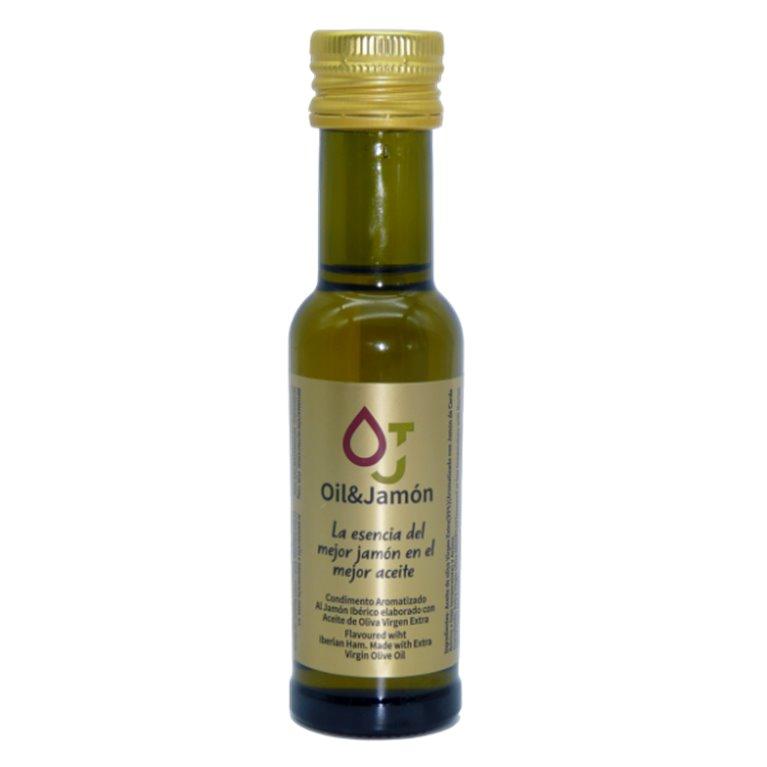 Aceite con jamón bellota 99ml