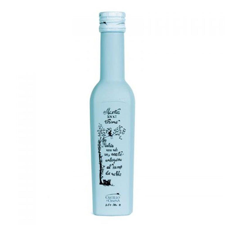 Aceite de Arbequina al Humo de Roble, Aceite de Oliva Virgen Extra