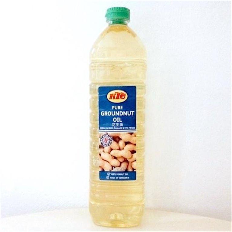 Aceite de Cacahuete 1 litro caja 12 unidades