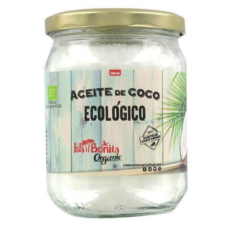 Aceite de coco BIO 450 ml - Isla Bonita Organic