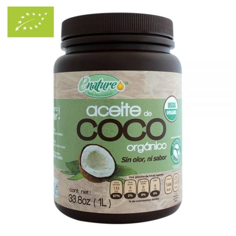 Aceite de Coco Bio for Cooking 1000ml, 1 ud