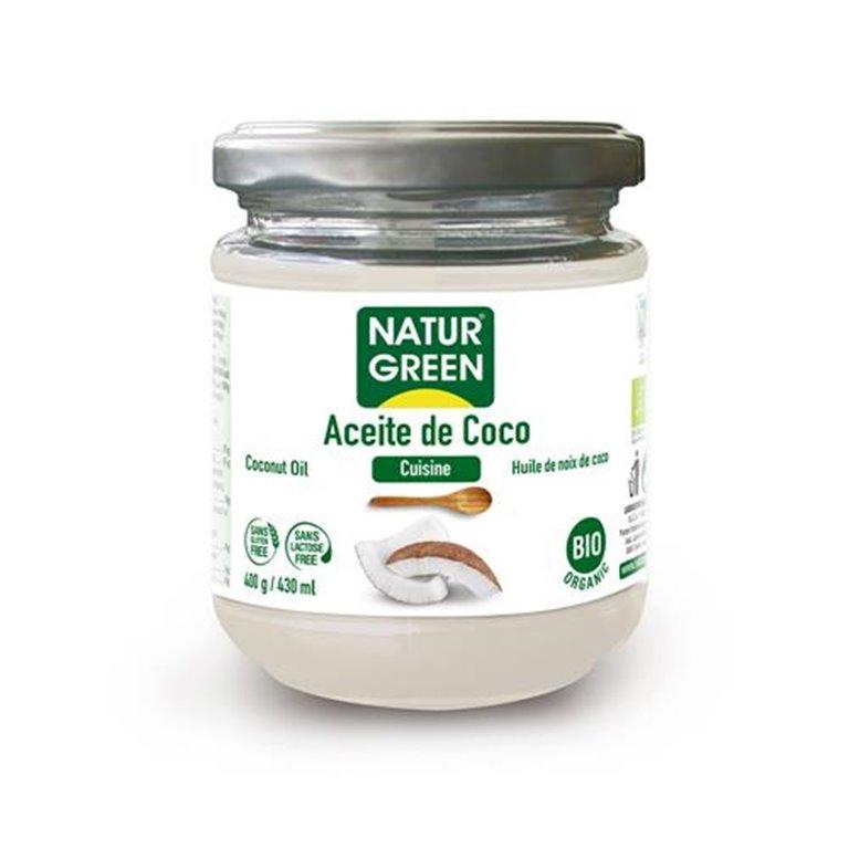 Aceite de Coco Desodorizado Bio 400ml