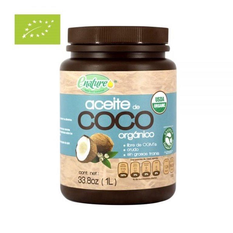 Aceite de Coco Extra Virgen Bio 1000ml, 1 ud