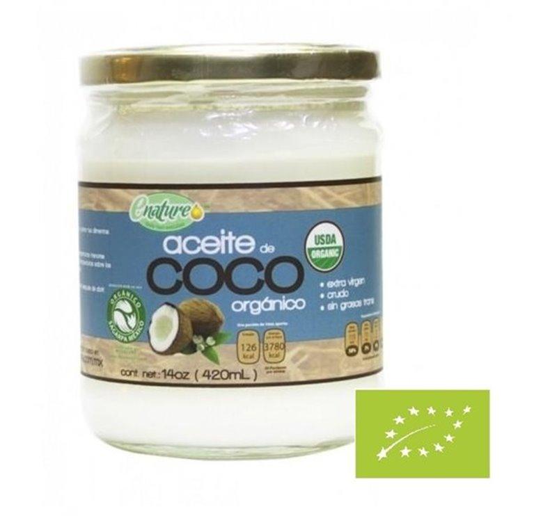 Aceite de Coco Extra Virgen Bio 420ml, 1 ud