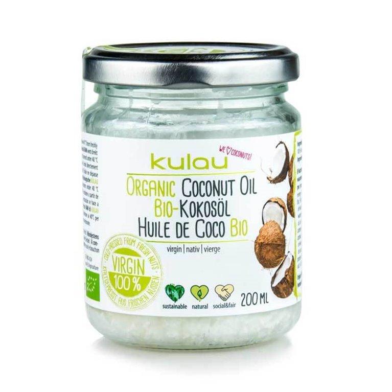 Aceite de coco virgen 200 ml  - Kulau