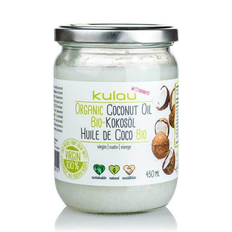 Aceite de coco virgen 450 ml - Kulau