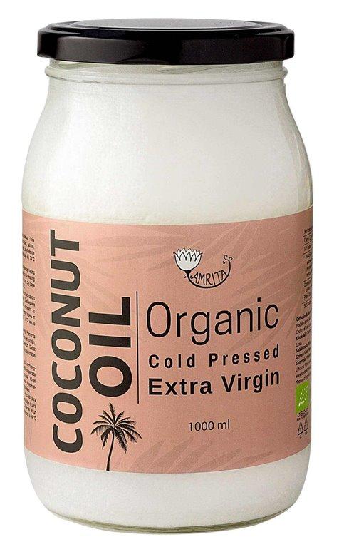 Organic Virgin Coconut Oil 1L - Amrita