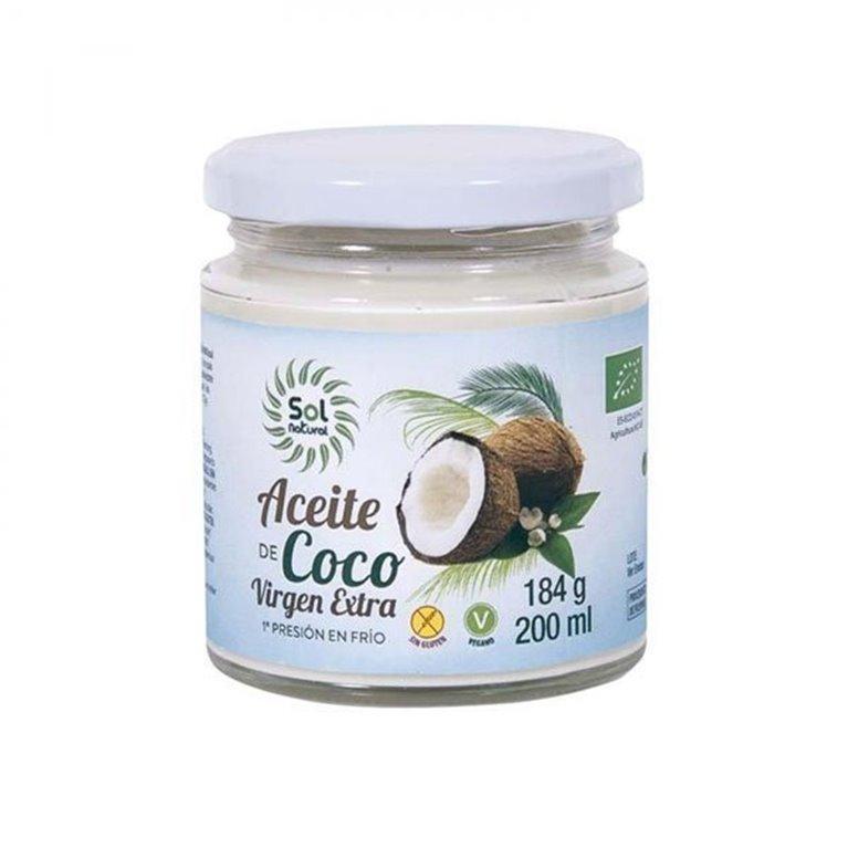 Aceite de coco virgen extra bio 200ml