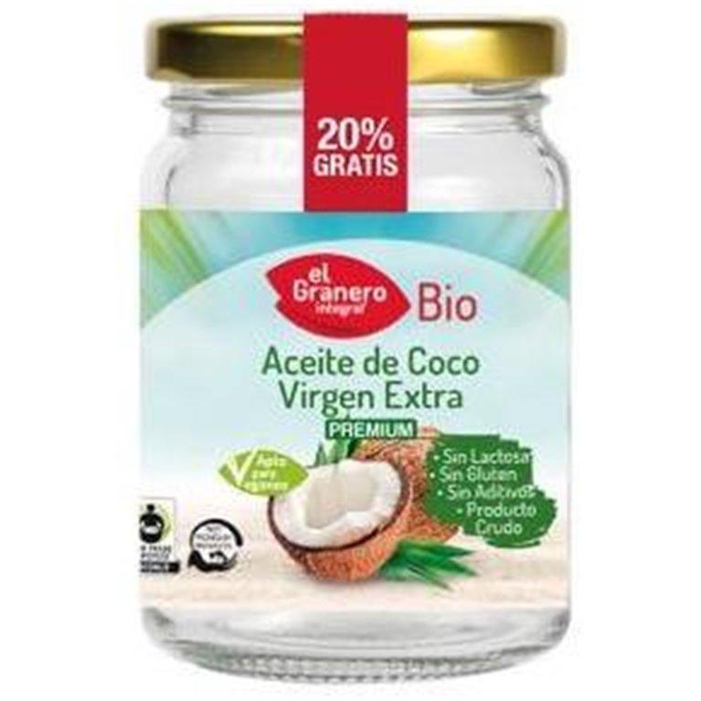 Aceite de Coco Virgen Extra Bio 500ml